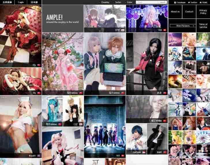 コスプレ画像投稿サイト「AMPLE」がハイクオリティすぎて、スクロールし続けてしまう・・・