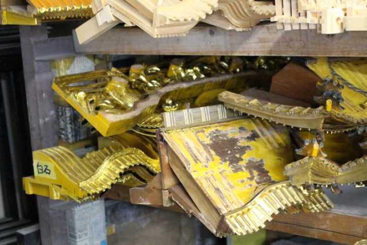 伝統工芸品に指定されている三河仏壇組合の工場を見学してきた[愛知県新城市作手] (11)