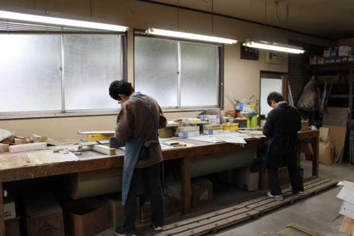 伝統工芸品に指定されている三河仏壇組合の工場を見学してきた[愛知県新城市作手] (6)
