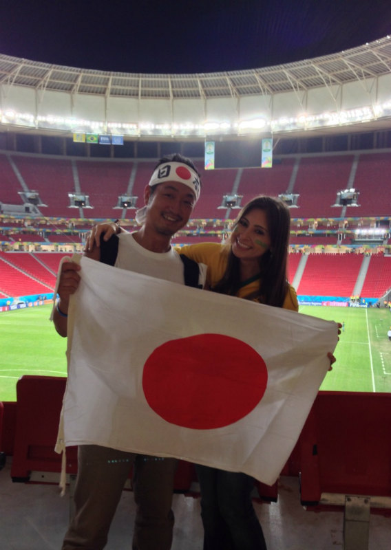 ブラジルW杯現地で出会った美女サポーターの写真画像[美人女子シリーズ] (6)