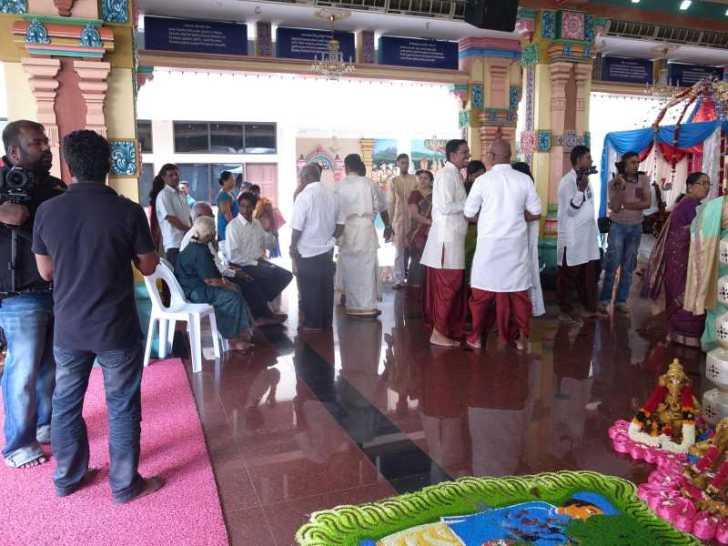 [マレーシア旅行記]8.クアラルンプールでヒンドゥー教の結婚式に参列 (6)