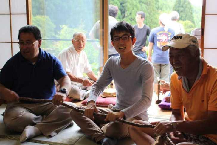 愛知県新城市の作手菅守地区で「百万遍念仏」を唱えて無病息災を願いました! (4)