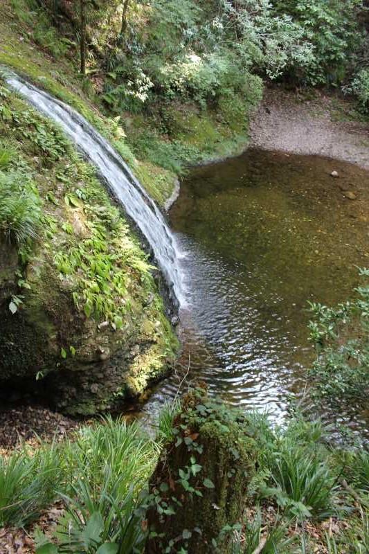 愛知県唯一の日本の滝100選である新城市「阿寺の七滝」に情緒あり (2)