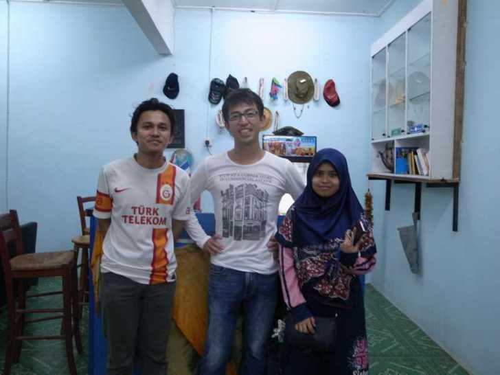 [マレーシア旅行記]6.メルシン行きのバスで出会ったイスラム教のかわいい女の子 (13)