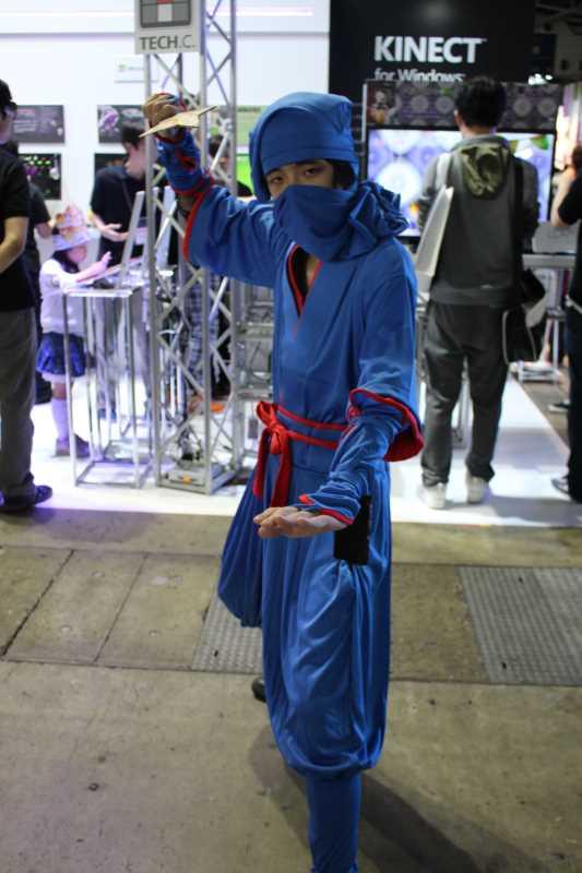 来場者数が25万人を越えた東京ゲームショウ2014に弾丸で行ってみた (5)