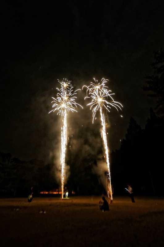 東京・浅草橋「長谷川商店」で購入した花火でミニ花火大会をやってみた! (8)