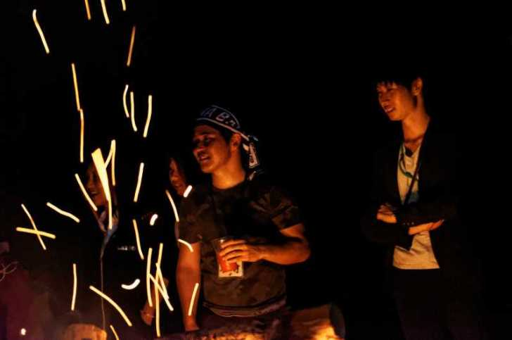 東京・浅草橋「長谷川商店」で購入した花火でミニ花火大会をやってみた! (6)