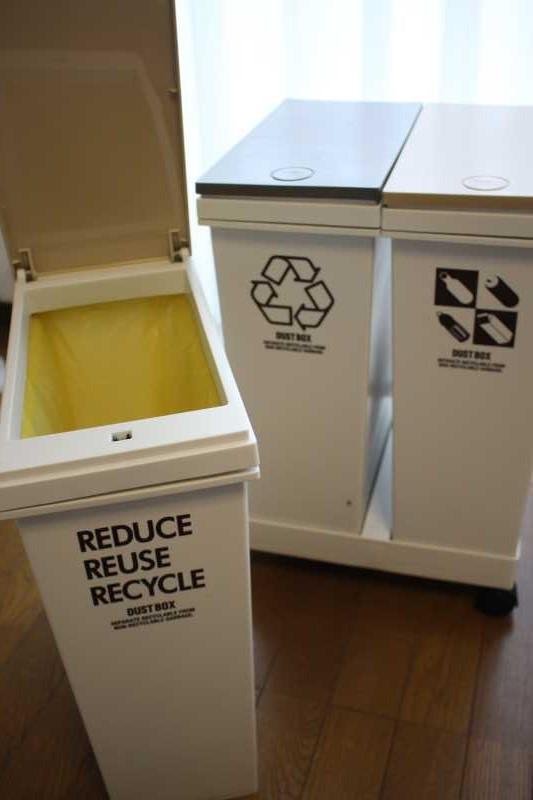 アスベルの移動式ゴミ箱がおしゃれで使いやすくておすすめ!(レビュー) (2)
