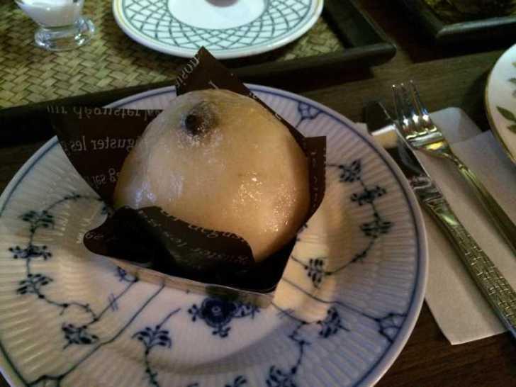 maruya(まるや)コーヒー、季節のタルト、ほうじ茶プリン、八宝茶 (2)