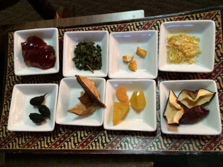 maruya(まるや)コーヒー、季節のタルト、ほうじ茶プリン、八宝茶 (7)