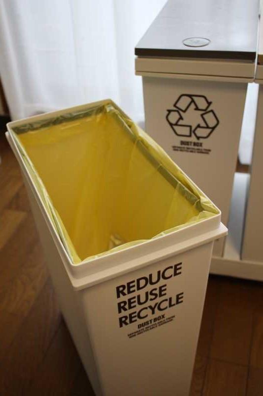 アスベルの移動式ゴミ箱がおしゃれで使いやすくておすすめ!(レビュー) (3)