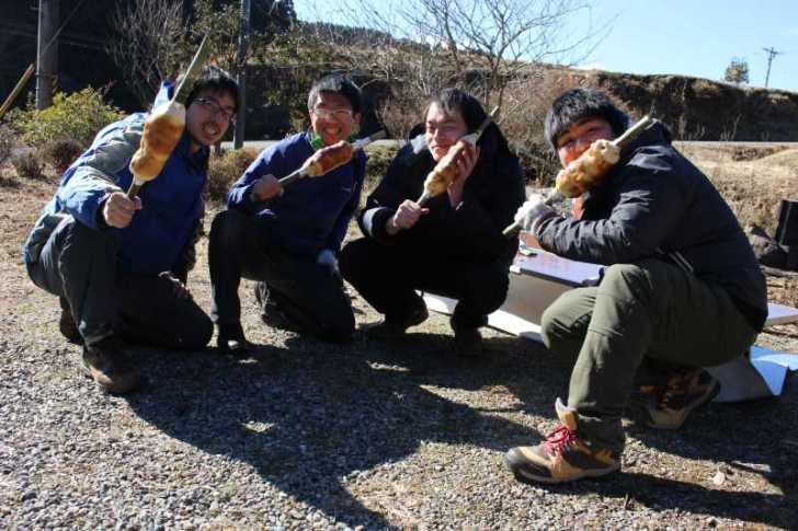 炭火手作りバームクーヘンをリベンジ!ついでに鹿肉も猪肉も喰ったった!! (13)