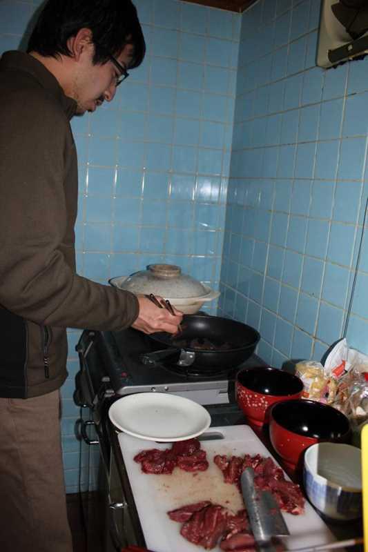 炭火手作りバームクーヘンをリベンジ!ついでに鹿肉も猪肉も喰ったった!! (3)