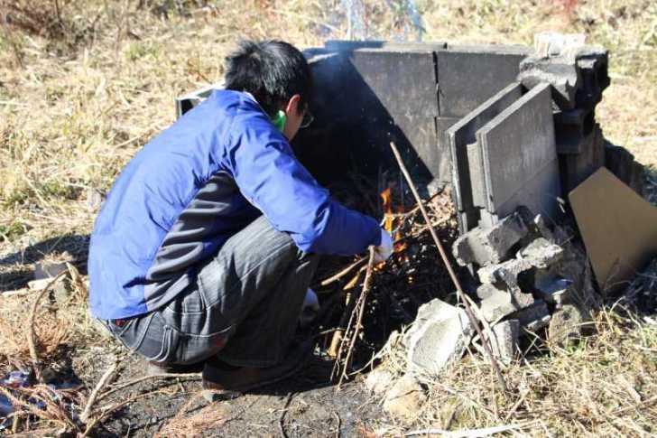 炭火手作りバームクーヘンをリベンジ!ついでに鹿肉も猪肉も喰ったった!! (8)
