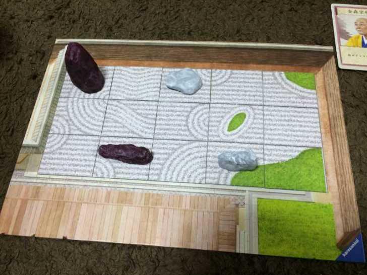 趣のある庭園をつくるボードゲーム「枯山水」で徳を積む【レビュー】 (5)