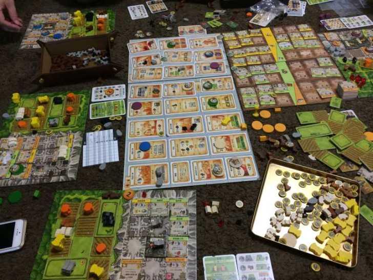 アグリコラより面白いと噂のボードゲーム「カヴェルナ 洞窟の農夫たち」をプレイしてきたよ【レビュー】 (3)