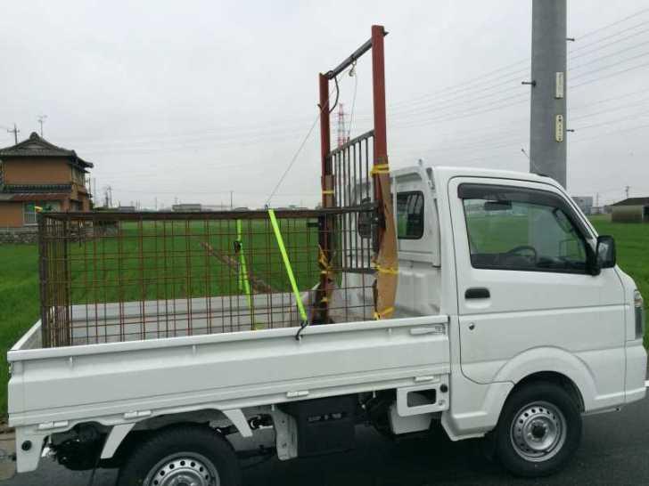 イノシシ・鹿を捕獲するための箱罠の作り方【狩猟・檻】 (22)