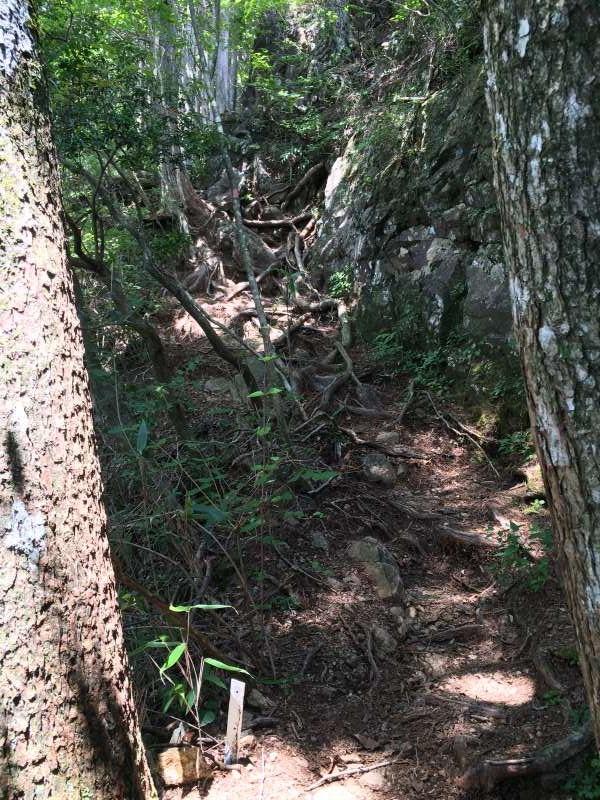 三ツ瀬明神山を登山してきたよ!登山ルートは絶景の乳岩コース【愛知】 (21)