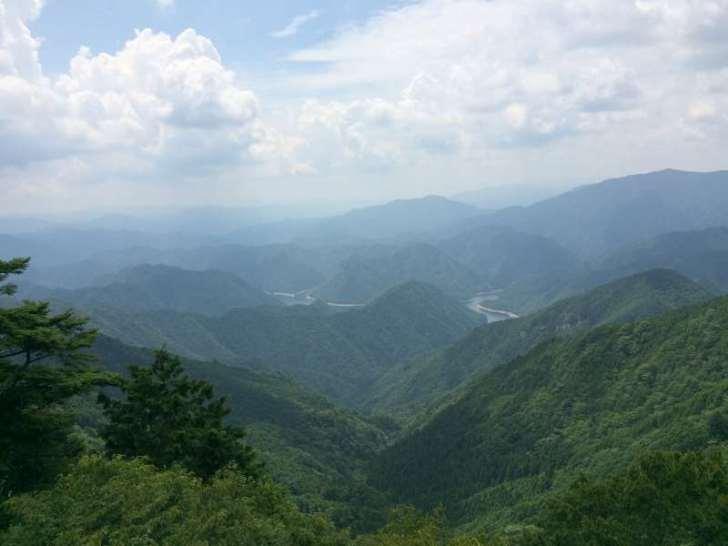 三ツ瀬明神山を登山してきたよ!登山ルートは絶景の乳岩コース【愛知】 (19)