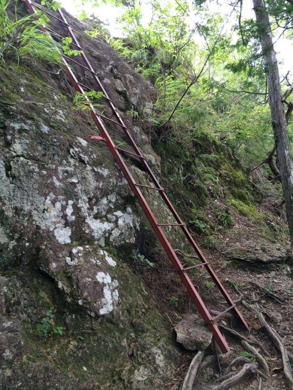 三ツ瀬明神山を登山してきたよ!登山ルートは絶景の乳岩コース【愛知】 (18)