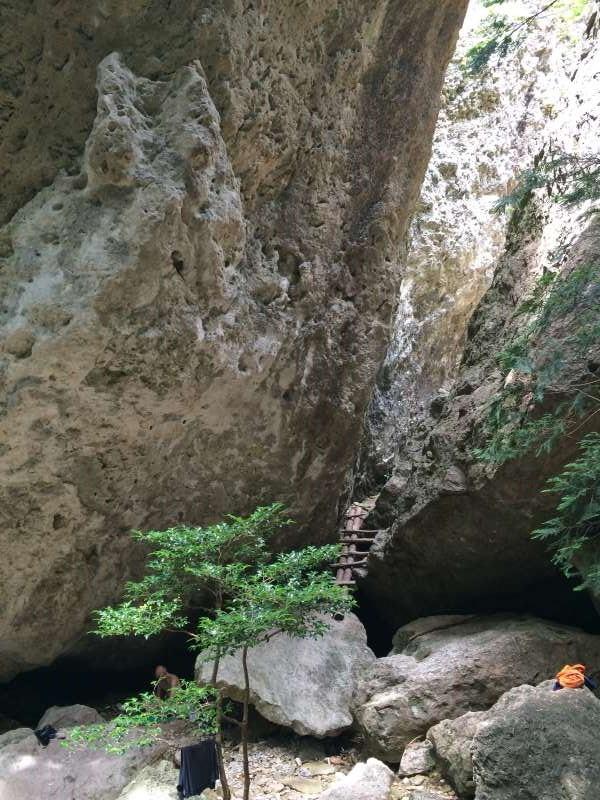 三ツ瀬明神山を登山してきたよ!登山ルートは絶景の乳岩コース【愛知】 (6)
