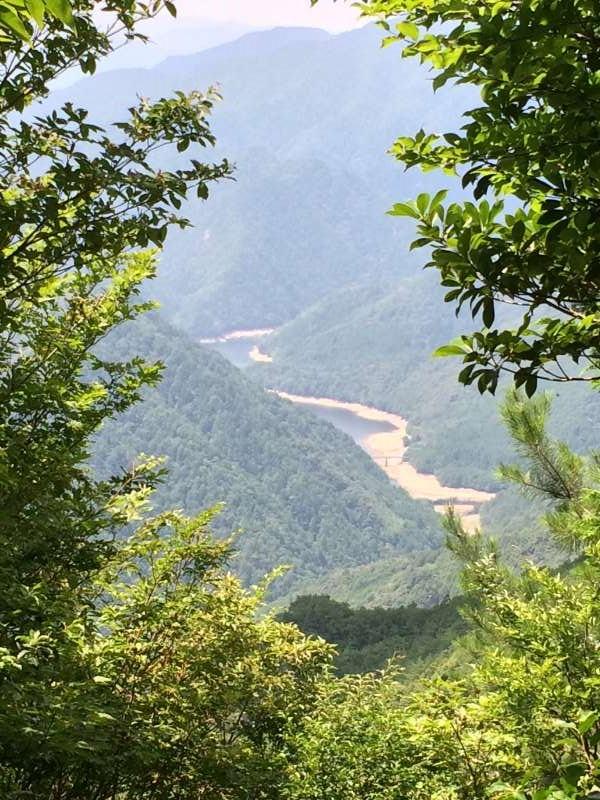 三ツ瀬明神山を登山してきたよ!登山ルートは絶景の乳岩コース【愛知】 (10)