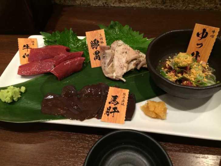 おいしい肝を名古屋で食べたかったら伏見へ急げ!「肝屋 嘉正亭 みその」の牛心や馬肝がおすすめ! (2)