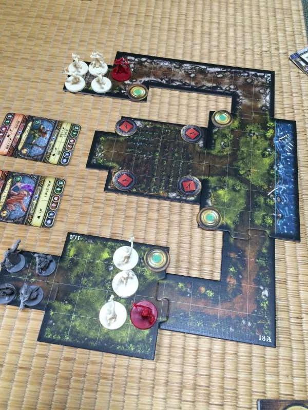 「ディセント(DESCENT)」がTRPG好きにはたまらないボードゲーム!コンポーネントが素敵! (2)