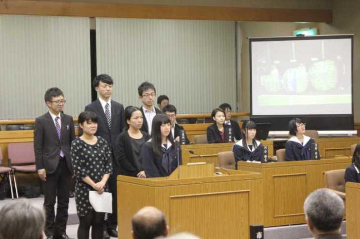 若者議会の政策が市長に答申されました!6つの政策の事業費は約1000万円【愛知県新城市】 (10)