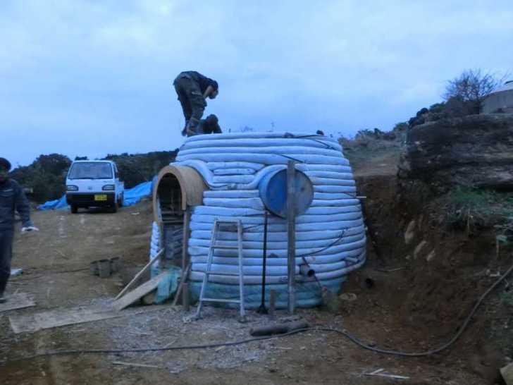 アースバックハウスの作り方を学んでみた!セルフビルドで安く簡単で地球に優しい家を作りたい!! (1)