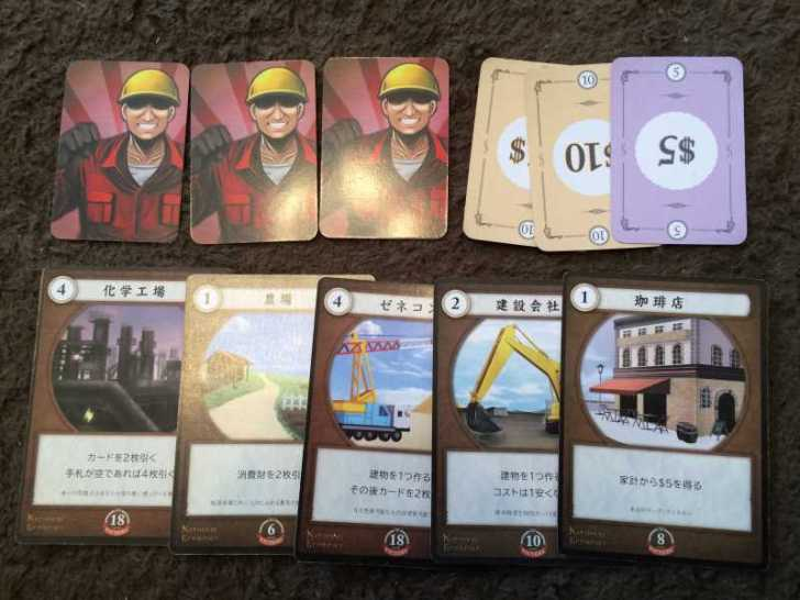 【おすすめボードゲームレビュー】スパ帝新作ワーカープレイスメント「ナショナルエコノミー」が面白い! (1)