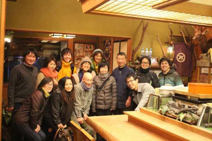 ラストハンター「片桐邦雄さん」のイノシシ解体技術を学び、最高級においしい猪鍋をいただいてきたよ! (11)