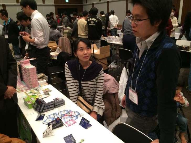 名古屋ボードゲームフリーマーケットに行ったら中学高校の同級生が「きょうあくなまもの」作成・販売しておりびっくり! (4)