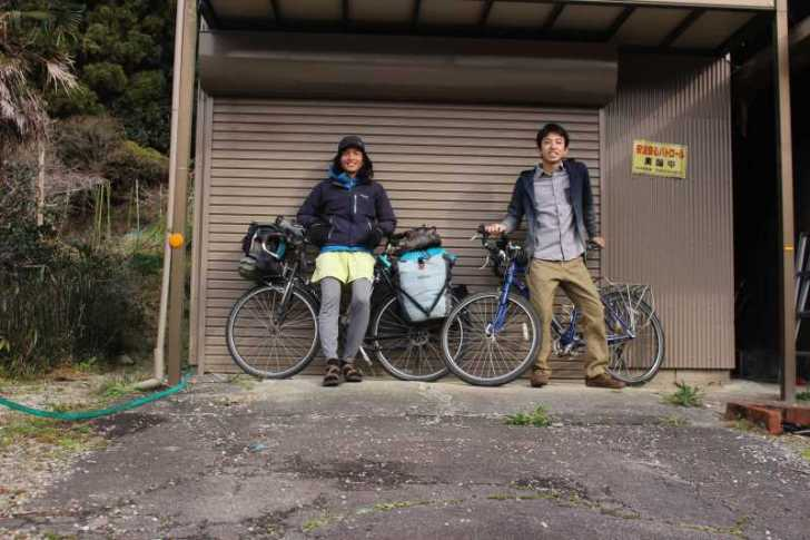 4年半かけて世界を自転車で70000㎞以上走った世界一周チャリダー「伊藤篤史」、我が家に現る!