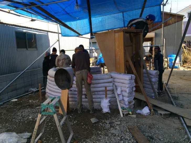 アースバックハウスを和歌山でも作ってきたよ!僕も愛知県で作りたい!! (1)