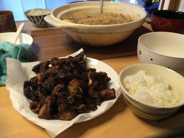イノシシを飼育している山田英雄さん、そして解体した猪のモツ祭り!【愛知県新城市】 (2)