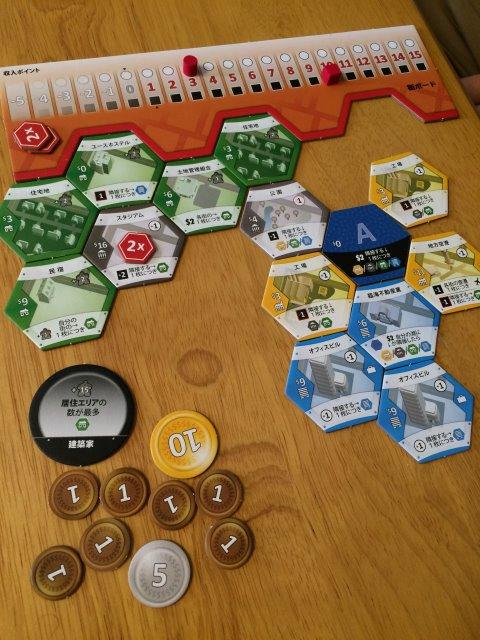 シティビルダーが選択肢が少ない割に戦略性があって面白い!【ボードゲームレビュー】 (6)