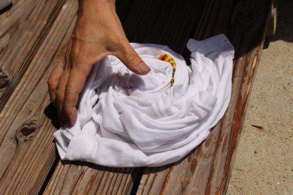 草木染め染色体験ふたたび。藍染めTシャツの作り方を研究してみたよ! (6)