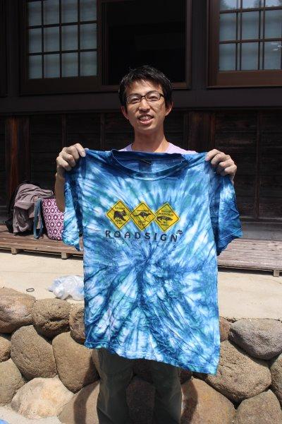 草木染め染色体験ふたたび。藍染めTシャツの作り方を研究してみたよ! (9)