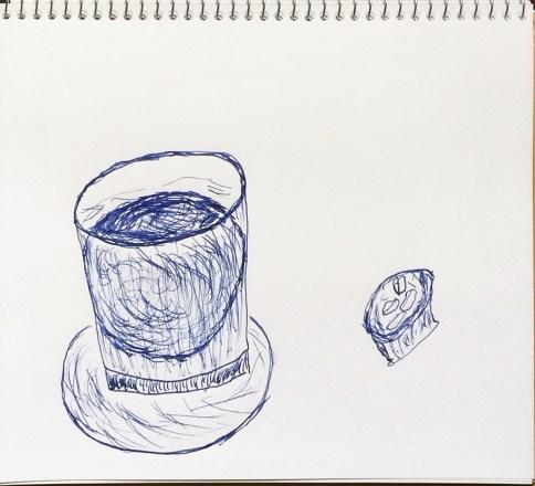ウィスキーグラスの氷