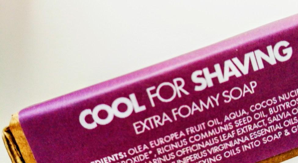 Cool for Shaving soap