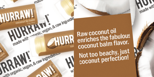 hurraw coconut lip balm ingr