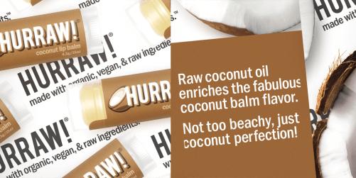 hurraw coconut lip balm ingr