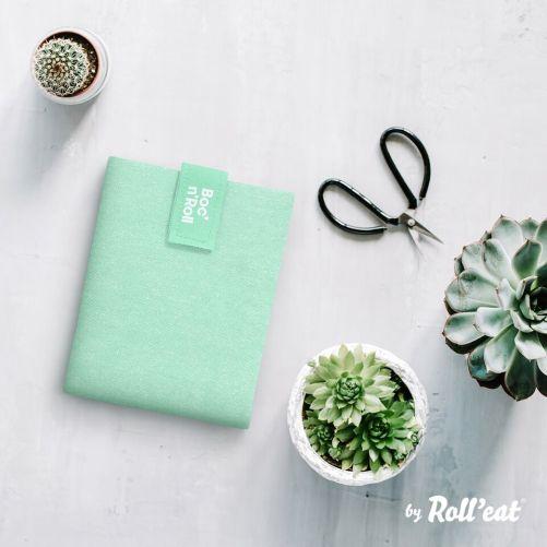 Roll'Eat Boc'n'Roll herbruikbare lunch wrap mint