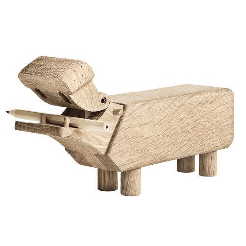 Hippo van Kay Bojesen houten design object