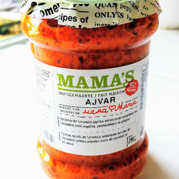 Mama's Ajvar Hot spread vegan