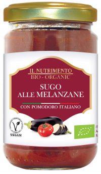 Il Nutrimento Melanzane vegan pastasaus