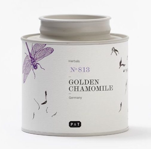 P&T golden chamomile kamillethee