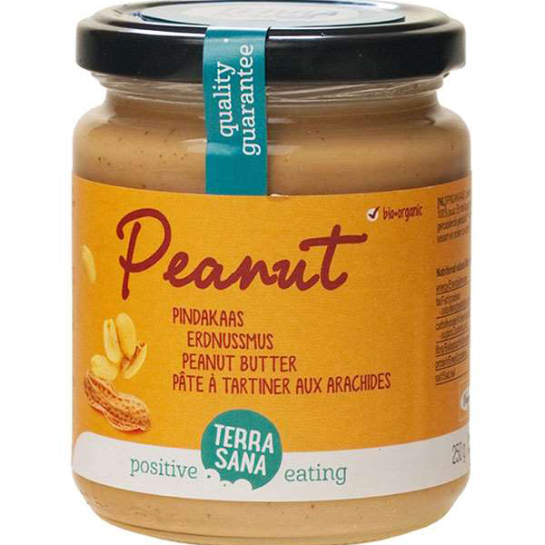 pindakaas TerraSana Peanut Butter 250gr