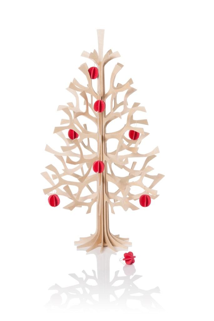 Lovi kerstboom 30cm naturel